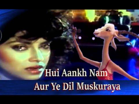 Hui Aankh Nam Aur Ye Dil Muskuraya  Saathi Animated Video Hd Songs