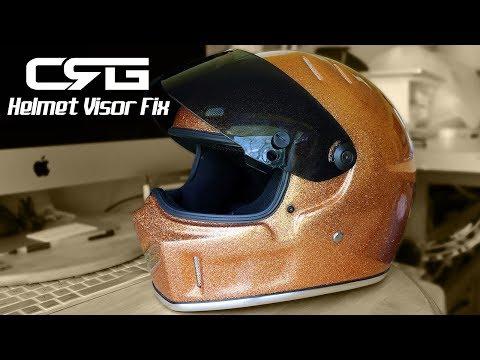 CRG Helmet Visor Fix/Mod - DIY
