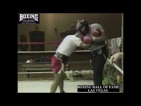 Открытая тренировка Майка Тайсона 1986