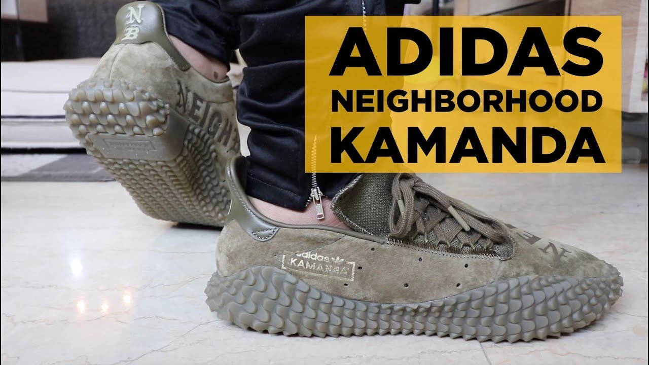timeless design dfa29 3ff70 NEIGHBORHOOD x ADIDAS KAMANDA 01 REVIEW