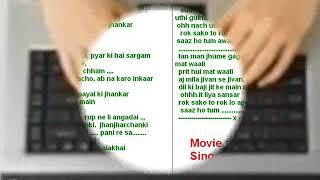 Saaz ho tum ( Saaz Aur Awaaz ) Free karaoke with lyrics by Hawwa -