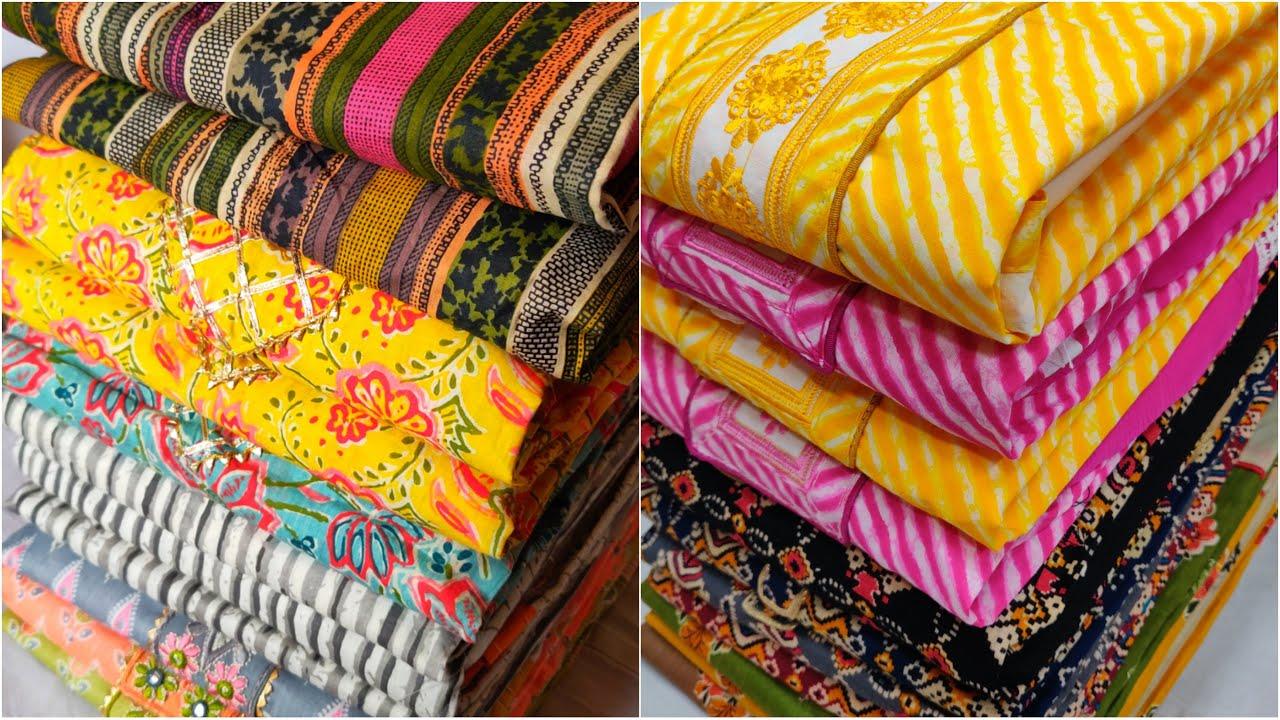 New कॉटन सूट सस्ते में   GST फ्री   Cotton ladies suit wholesale market in delhi cheap chandni chowk