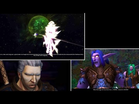 WoW: Legion - Army of the Light and Illidan story playthrough part 1 - 1080p 60fps - No commentary