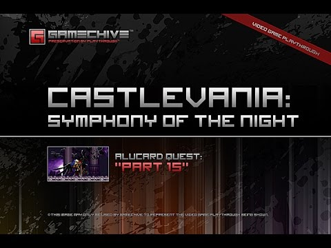Castlevania: Symphony of the Night (PS) Gamechive (Alucard Quest, Part 15/20)