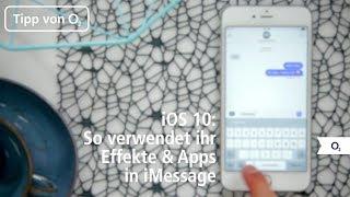 iOS 10: Neue Effekte und Apps in iMessage verwenden