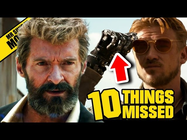 Logan Movie Trailer Easter Eggs