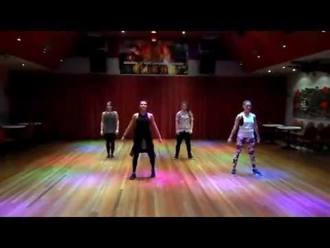 Omi – Cheerleader Zumba routine