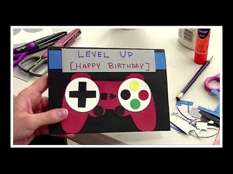 DIY Homemade Birthday Card