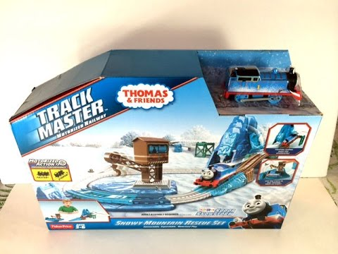 New Thomas and Friends Trackmaster Snowy Mountain Rescue ...