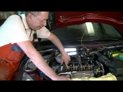 Peugeot / Citroen Adjusting valves 1.4l TU3 JP engine