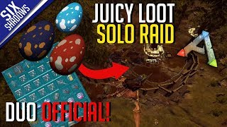 JUICY LOOT FROM SOLO RAID + EGGS! | Duo Official PvP - Ep. 10 - Ark: Survival Evolved