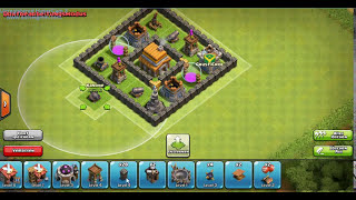 Clash Of Clans Beste Aufstellung mit Rathaus Level 5 Best TownHall Level 5 Base