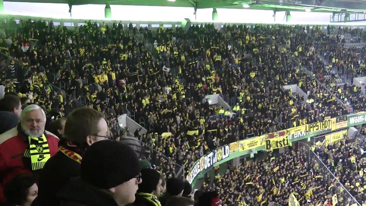 Wolfsburg - Dortmund Stimmung VfL - BVB 0:3 Borussia Dortmund