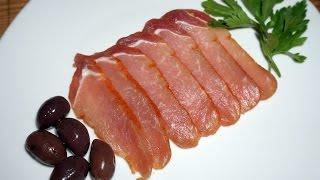 сыровяленое мясо в домашних условиях_Prosciutto at home