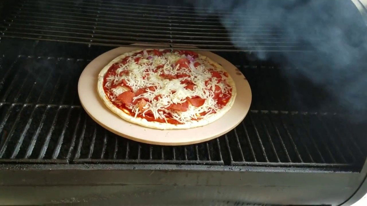 quick and easy pizza on a pellet grill the backyard griller