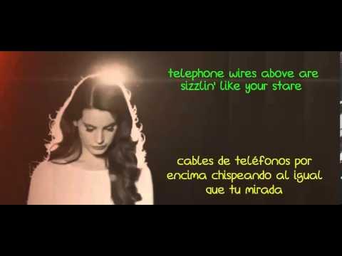Lana del Rey - Summertime Sadness (Lyrics - Subtitulado en español)