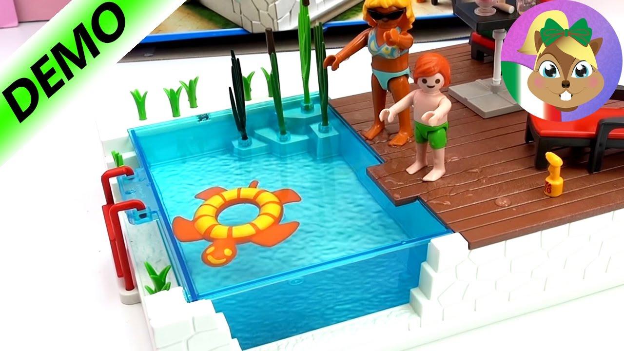 piscina playmobil city life come costruirla e giocare