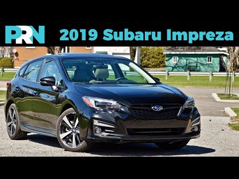2019 Subaru Impreza Sport-tech + EyeSight Review