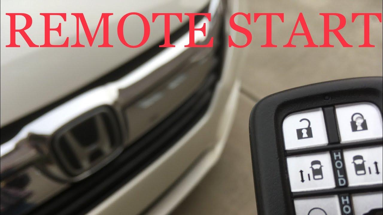 Remote Start 2018 2019 Honda Odyssey On Or Off Youtube