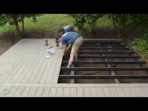 How to Install a Breaker Board using 3mm Quickfix system for Composite Decking Ekodeck