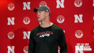 Nebraska Football: Scott Frost on Wan'Dale Robinson, Wisconsin and More