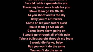 Repeat youtube video Firework & Grenade MASHUP (Explosion Medley) - Sam Tsui (Lyrics) HD