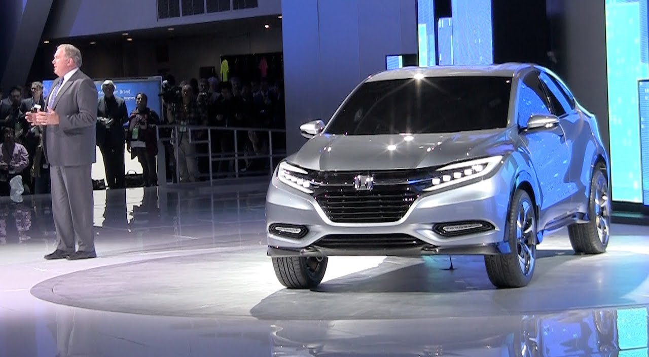 Watch the honda urban suv concept debut at the detroit auto show youtube