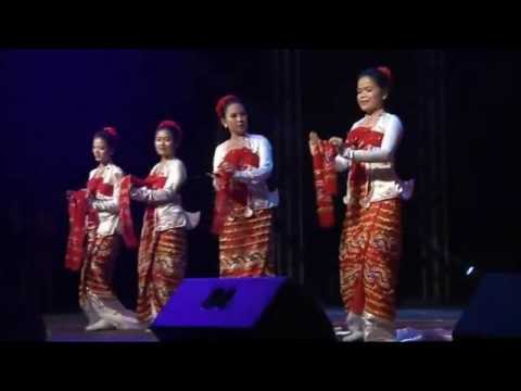 A Pyo Taw Dance - TTCL Annual Staff Party , Performance Show From Myanmar