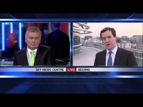 George Osborne To Relax China Visa Rules