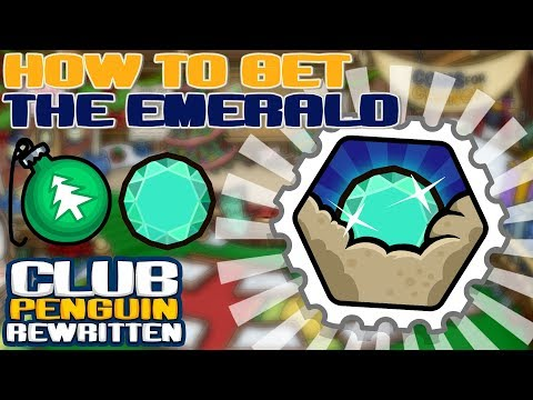 Best way to get the Emerald/Ornament in Treasure Hunt!! (Club Penguin Rewritten)