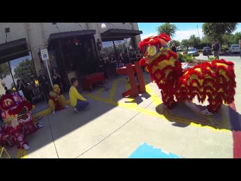 Hoa Dao Lion Dance @ Hollywood Nail & Spa