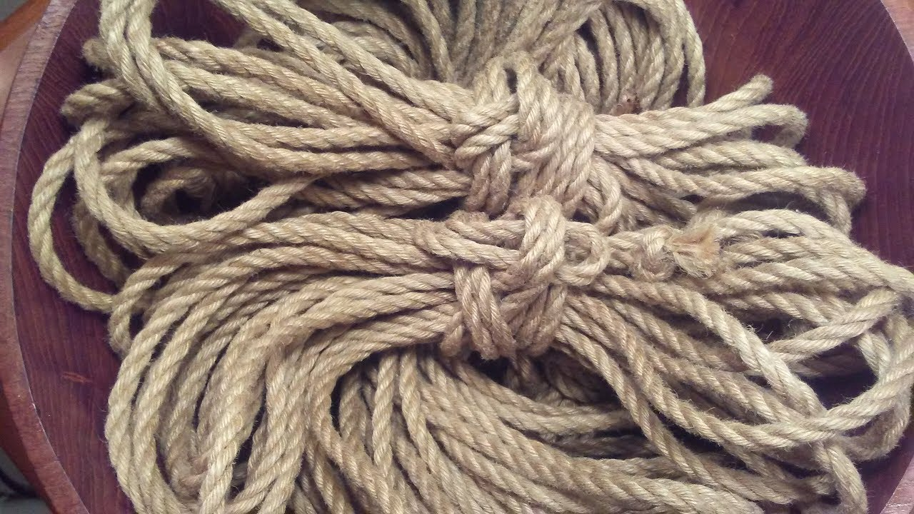 BDSMIY: How to process raw natural rope