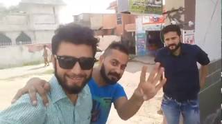 Having fun at haider kazmi