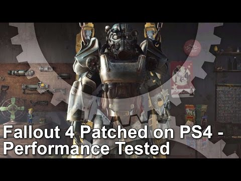 Fallout 4 PS4 Patch 1.02 Frame-Rate Test