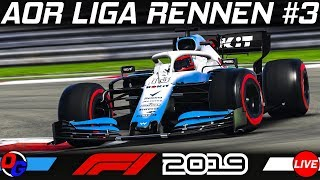 F1 2019 AOR Rennen #3: Shanghai, China GP | Season 18 | Formel 1 2019 Livestream German
