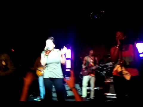Kabaka Pyramid ft Sara Lugo High & Windy. Lugo RebelMusikFest. C.R 2012