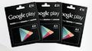 How to get free google play gift cards! 2016!