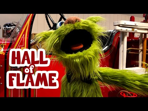 Avocado Visits The World's Largest Firefighting Museum - The Hall Of Flame