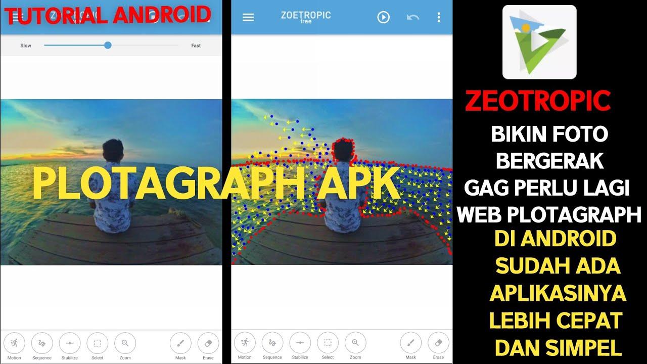 Cara edit foto bergerak _ tutorial zoetropic