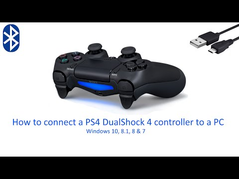 connect-a-ps4-controller-to-a-pc-or-laptop-(usb-&-bluetooth)-/-windows-10,-8,-7-&-vista