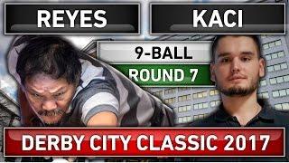 Efren Bata Reyes v Eklent Kaci ᴴᴰ 2017 Derby City Classic 9-ball Pool Round 7