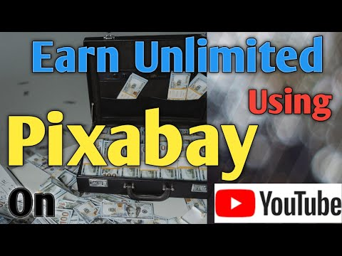 How to earn money by Pixabay|| How to make money on YouTube+ pixabay