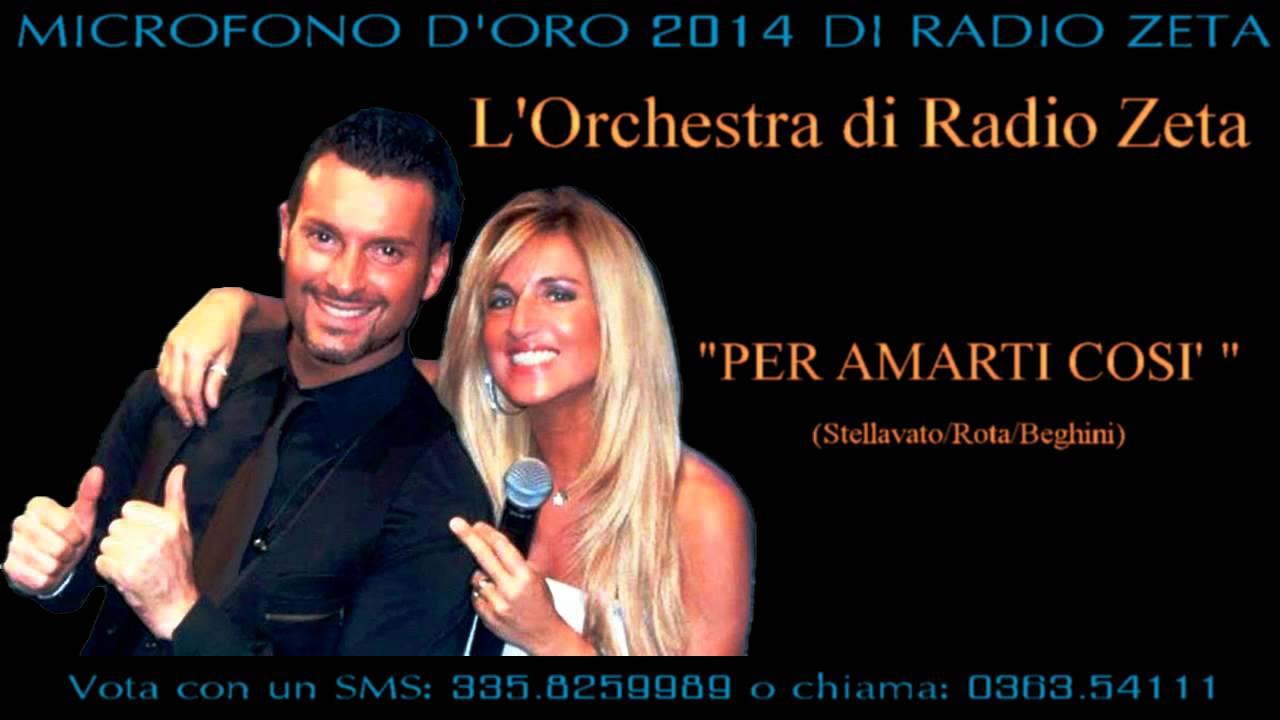 Orchestra Radio Zeta Calendario.Per Amarti Cosi L Orchestra Di Radio Zeta