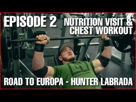 Chest Workout & Diet - Episode 2: 11 Weeks to Contest - Hunter Labrada