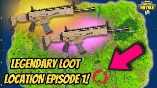 SCAR LOCATION ON SOLO in FORTNITE BATTLE ROYALE! HOW TO GET LEGENDARY SCAR! (ALL CHEST LOCATIONS)