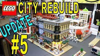 LEGO CITY REBUILD UPDATE # 5