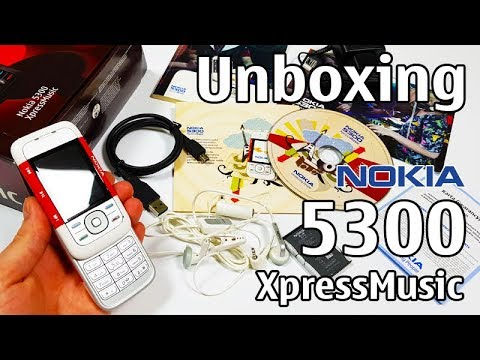 Download Nokia 5300 XpressMusic Unboxing 4K with all original accessories RM-146 review