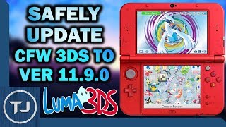 How To Safely Update CFW 3DS To 11.9.0 (SysNAND Backup)
