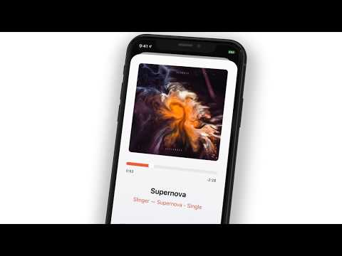 Soor - Apple Music Player for iPhone