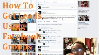 How To Get Leads from Posting Ads in Facebook Groups